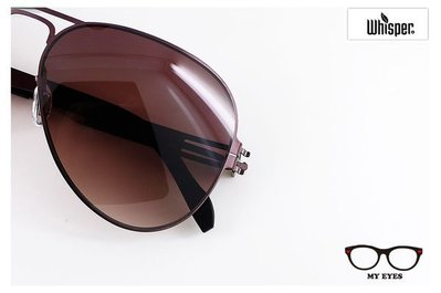 【My Eyes 瞳言瞳語】Whisper薄鋼中性太陽眼鏡 帥勁有型 RB3513  (XCM0006S)