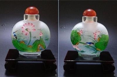 清香中國特色手工藝品創意商務禮品送長輩外事純手工內畫鼻煙壺 壺說21