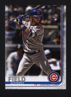 2019 Topps Series 2 #606 Johnny Field - Chicago Cubs RC