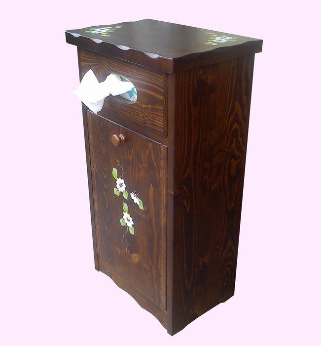 【X+Y時尚精品傢俱】現代櫥櫃系列-維也納 彩繪面紙垃圾箱.鄉村風家具.實木家具