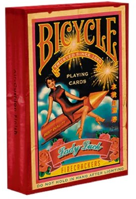 【USPCC撲克】Bicycle FireCracker Playing Cards 鞭炮 撲克牌