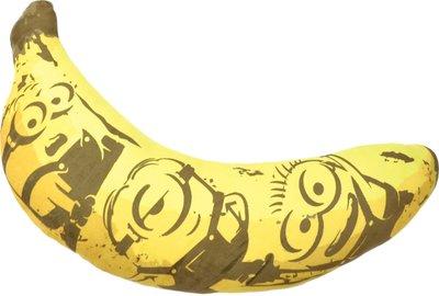 41+現貨免運費 Y拍最低價 正版日本授權棉柔絨毛 小小兵 神偷奶爸 Minion 香蕉墊 香蕉 抱枕 小日尼三