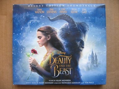 Beauty And The Beast (Disney) CD (2碟) (Made In EU) (附小畫冊)