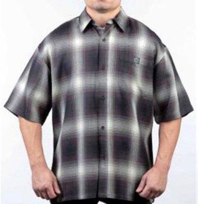 【DOOBIEST】- LOWRIDER - VETERANO LONGSLEEVE 襯衫短袖 薄款 (黑棕)