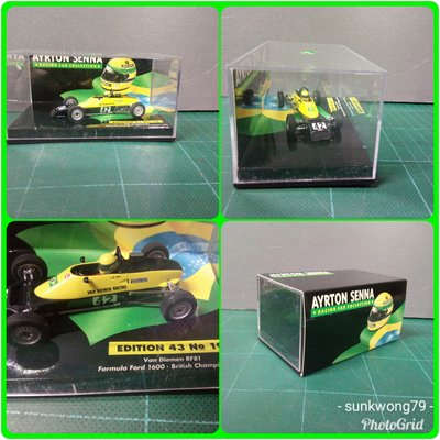 AYRTON SENNA RACING CAR COLLECTION Van Diemen RF Formula Ford 1600