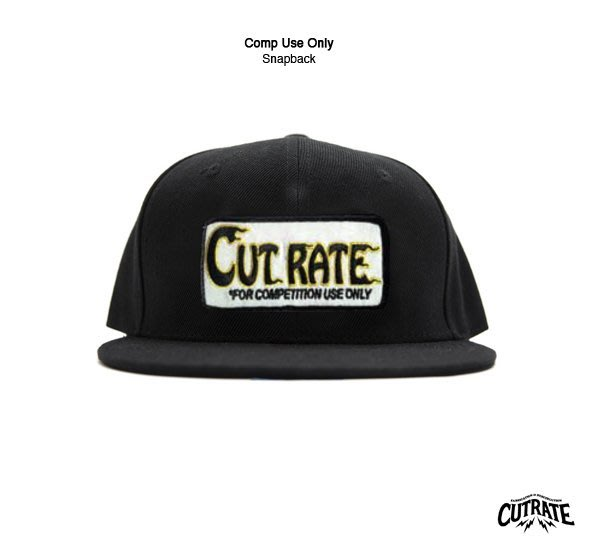 GOODFORIT / 美國Cutrate Comp Use Only Snapback五片式帽款/賽事專用情境