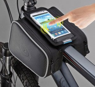 【大山野營】TNR-086 自行車馬鞍包 馬鞍袋 工具袋 工具包 雜物袋 5.5吋手機袋 反光警示