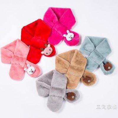 韓版男女童兒童圍巾冬季小孩寶寶圍巾秋冬薄款嬰兒圍脖保暖脖套潮】