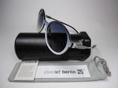 【信義計劃】全新真品 德國製 ic! berlin 太陽眼鏡 ever so soft  膠框有鼻墊 可配高度數正圓框