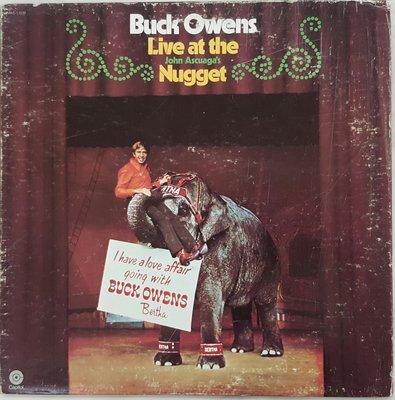 {夏荷 美學生活小舖}黑膠 BUCK OWENS Live At The Nugget