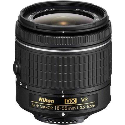 【高雄四海】Nikon AF-P 18-55mm F3.5-5.6G VR DX 全新平輸.一年保固.標準變焦鏡