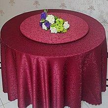居家家飾設計 轉盤套-桌10尺(300cm)-轉盤8尺-製作尺寸240+30cm