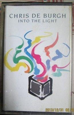 錄音帶~Chris De Burgh-Into The Light專輯.收錄The Lady In Red等.如圖示