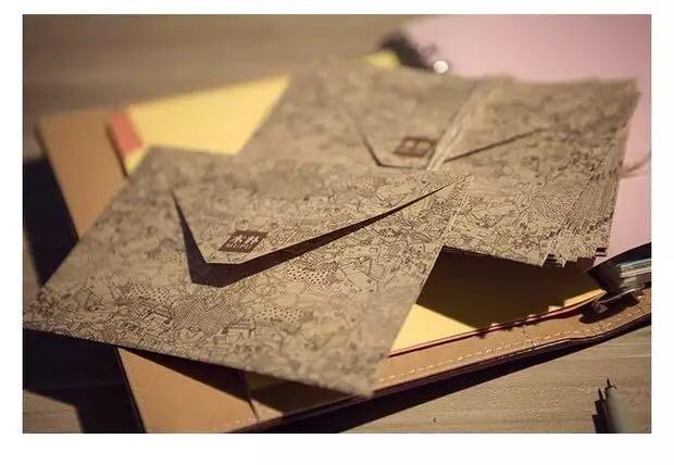 3入理想世界的信封 復古木樸信封 中國古風古韻牛皮紙信封 100g牛皮紙