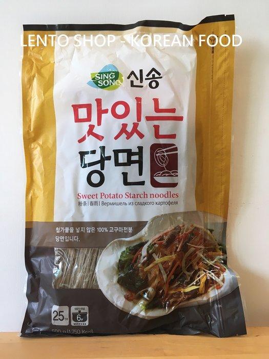 LENTO SHOP - 韓國 新松 Q彈 地瓜冬粉 粉絲 冬粉條 雜菜 1kg