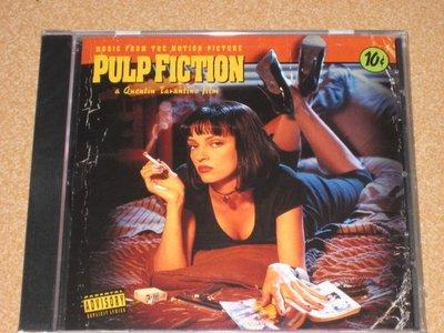 正版CD電影原聲帶《黑色追緝令》/ Pulp Fiction 全新未拆