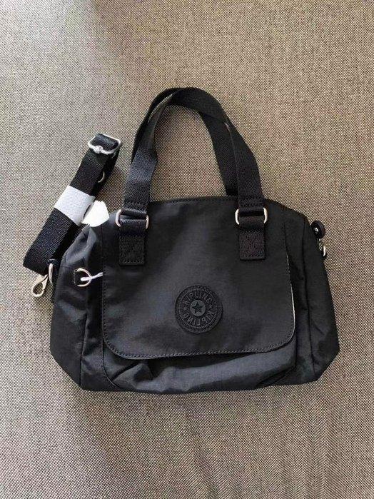 凱莉代購 Kipling K10102 黑色 三用 輕便 手提包 斜挎包  限量 預購