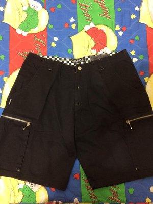 CABAL 黑色短褲 XL 工作短褲 拉鍊口袋 非AES REMIX B-SIDE OVERKILL SURVIVAL