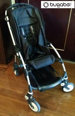 [買到賺到] 荷蘭bugaboo Bee 四輪避震雙向嬰兒折疊手推車(黑色)