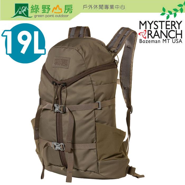 綠野山房 Mystery Ranch 神秘牧場 Gallagator 19L 登山後背包運動旅遊 橡木棕 61230