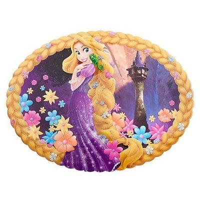【KIDS FUN USA】迪士尼Tangled魔法奇緣 長髮公主 造型桌墊/餐墊/桌飾 美國原裝 附編碼