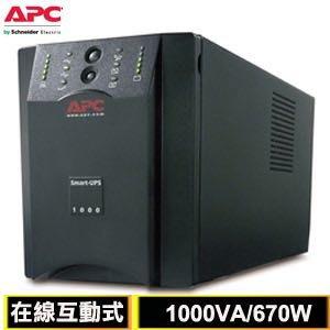 APC SMART-UPS 1000VA 220V在線互動式 不斷電系統 不包含電池 良品機 桃園市