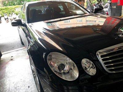☆雙魚座〃汽車精品〃E200 E240 E320 W211 E系列 06~09 後期專用 晶鑽魚眼大燈 W211 大燈