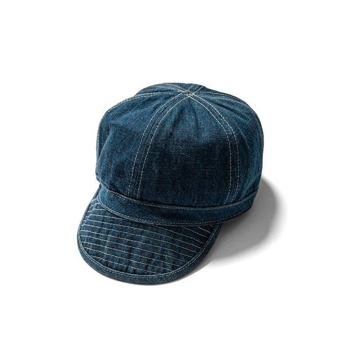 { POISON } RETRODANDY POW CAP 丹寧牛仔布戰俘小帽