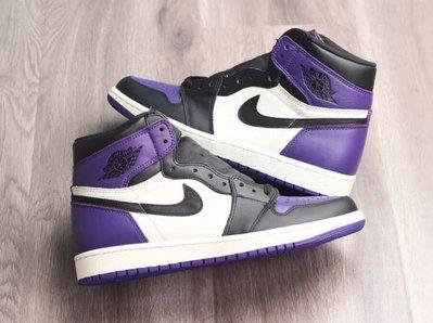[US9.5 賣場] JJordan 1 Retro High Court Purple 黑紫 男碼賣場