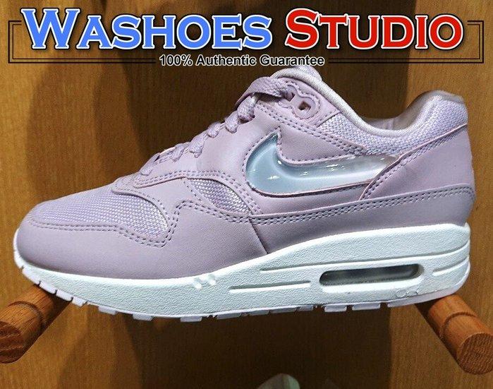 Washoes Nike Wmns Air Max 1 JP 粉紅 玫瑰粉 AT5248-500 寶石勾勾 女鞋 慢跑鞋