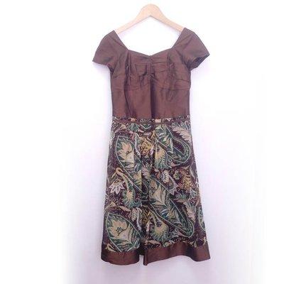 【精品服飾】PANG CHI絲質洋裝