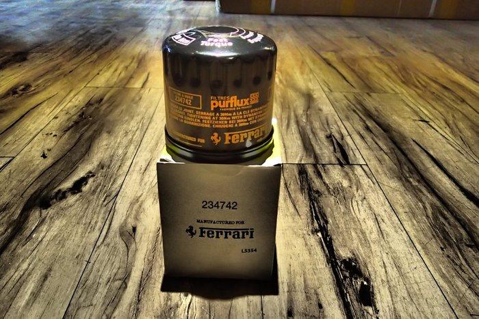 DJD19100710 FERRARI法拉利 F430 原廠機油芯