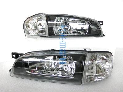 大禾自動車 黑底大燈 + 角燈 適用 SUBARU IMPREZA GC8