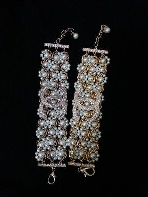 Chanel珍珠手環(九成新)