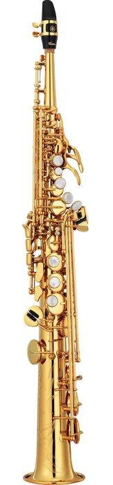 造韻樂器音響- JU-MUSIC - 全新 YAMAHA YSS-82Z 高音薩克斯風 Soprano Sax