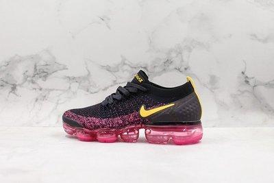 Nike Air max VAPORMAX FLYKNIT 黑粉 時尚 氣墊 休閒運動慢跑鞋 942843 008 女鞋