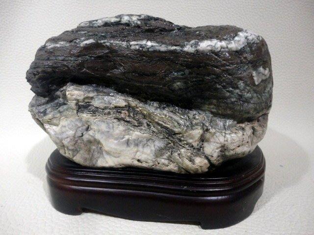 *藏雅軒*天然礦石 雅石系列 玉化蛇紋石~2099