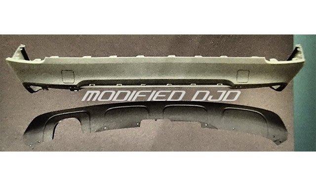 DJD Y0705 BMW X1 E84 09 10 11 12 13年 改M-TECH樣式 後保桿