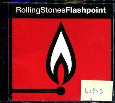 *真音樂* ROLLING STONES / FLASH POINT 歐版 二手 K2923  (大降價.下標賣2)