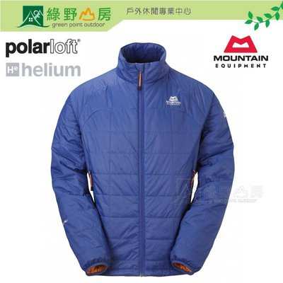 綠野山房》MOUNTAIN EQUIPMENT英國 男 Rampart 防風中纖保暖外套 化纖外套 藍ME-000921