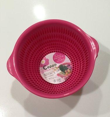 日本製 inomata 洗蔬菜水果 缽 洗蔬果籃 濾水籃 大 耐熱120