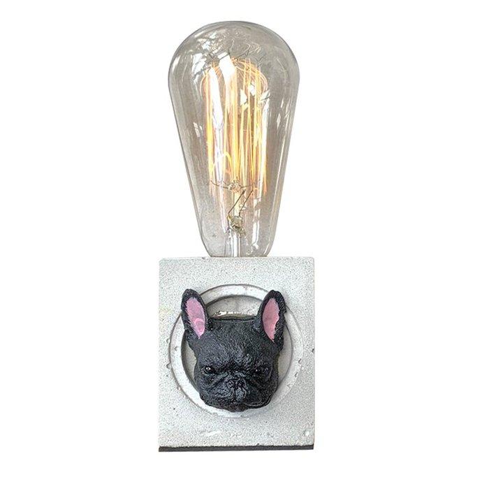 【曙muse】法鬥水泥桌燈  造型桌燈 客製化 質感 送禮 交換禮物 居家小物 室內擺飾 動物造型 可愛寵物 環保水泥