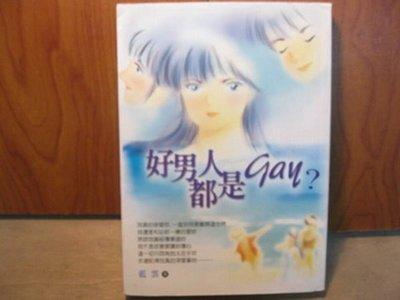 【愛悅二手書坊 15-38】好男人都是Gay? 藍雲 著 生活人文