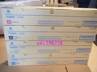 konica minolta bizhub C258 bizhub c308 bizhub c368 影印機原廠碳粉