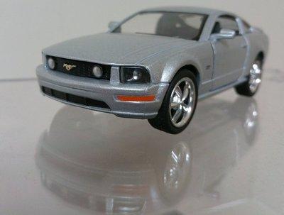 1:43福特野馬Mustang GT2008年knight Rider新霹靂遊俠霹靂車伙計KITT原型車銀色