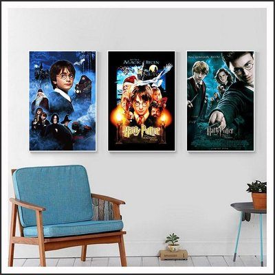 哈利波特 Harry Potter 電影海報 藝術微噴 掛畫 嵌框畫 @Movie PoP 賣場多款海報#