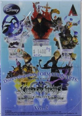 SQUARE ENIX DISNEY CHARACTERS FORMATION ARTS KINGDOM HEARTS VOL 2 5種 (BUY-31637)