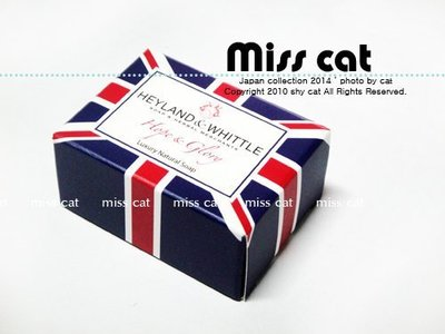 『Miss Cat 貓小姐』*【代購】☆ Heyland & Whittle 英倫薇朵手工皂《埃及豔后》45g*2