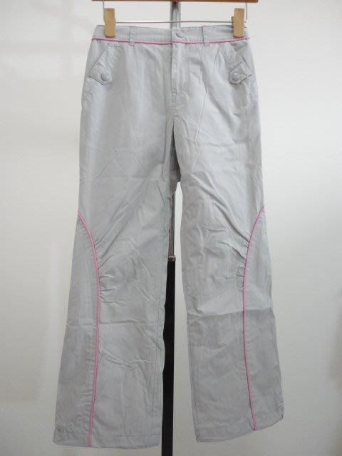 99元起標~bossini ~~女童保暖長褲~灰色~SIZE:140