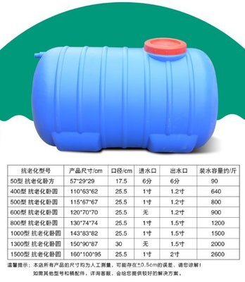 月生商會~特超大藍1.5噸桶圓形水塔塑膠桶大水桶加厚儲水桶儲存水罐蓄水箱 廚房好物
